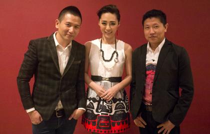 影展沙龍照(左起:趙德胤、吳可熙、王興洪)